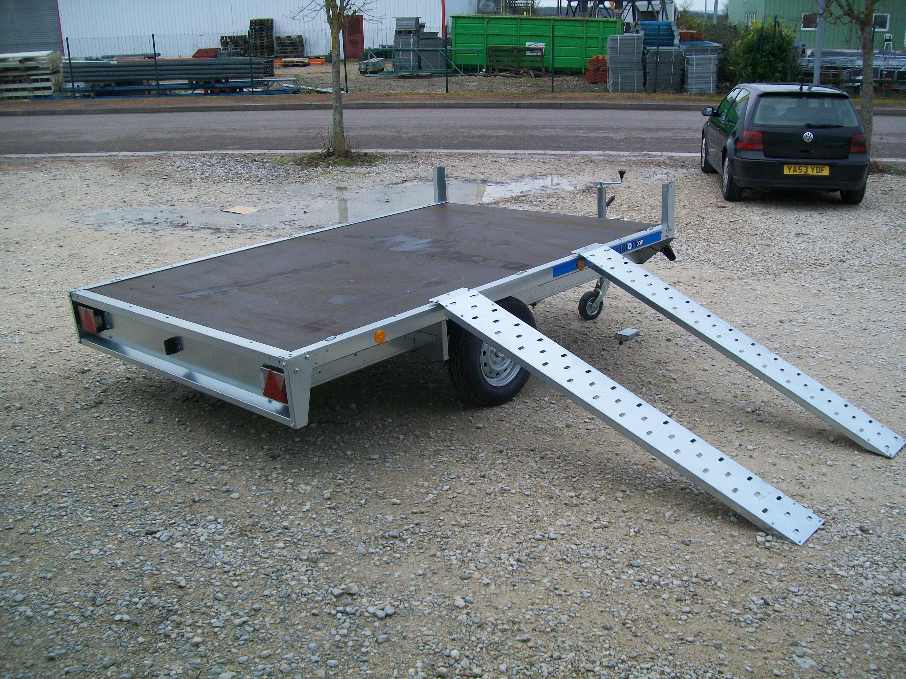 remorque plateau 1000 kg